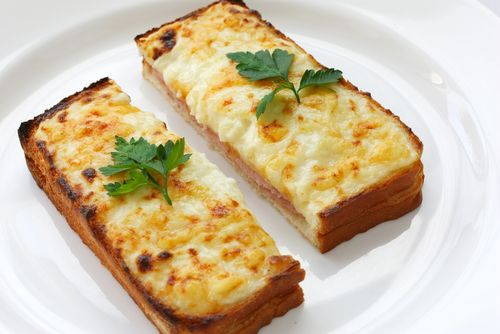 Café da manhã do dia das mães: croque monsieur