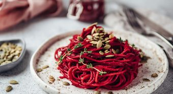 Beetroot,Pesto,With,Copy,Space