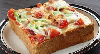 Pizza,Toasted,Bread