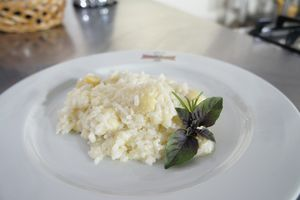 Arroz à piamontese