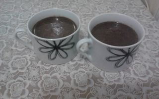 Chocolate quente simples