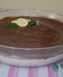 Mousse de banana diet