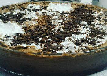 Foto de Torta mousse de chocolate com chantilly enviada por Marcelo Henrique