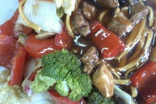 Yakisoba original (tipo fast food)