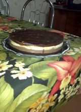 Foto da receita Cheesecake de chocolate