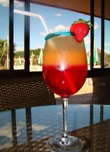 Foto da receita Drink pôr do sol Aguativa Golf Resort