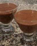 Mousse falso de chocolate